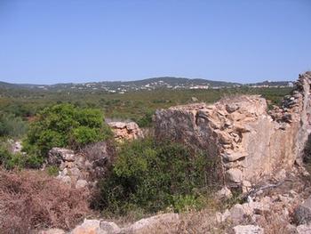 Estombar Lagoa (Algarve) terrain picture