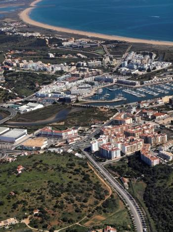 Ferragudo Lagoa (Algarve) terrain photo