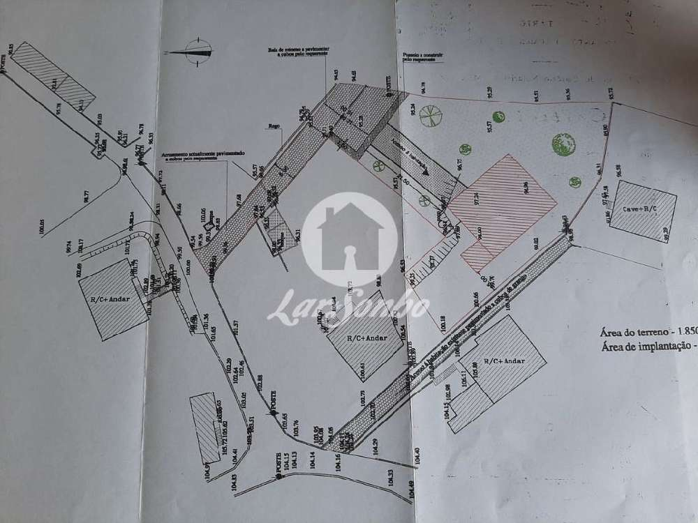 Caíde de Rei Lousada terreno foto #request.properties.id#