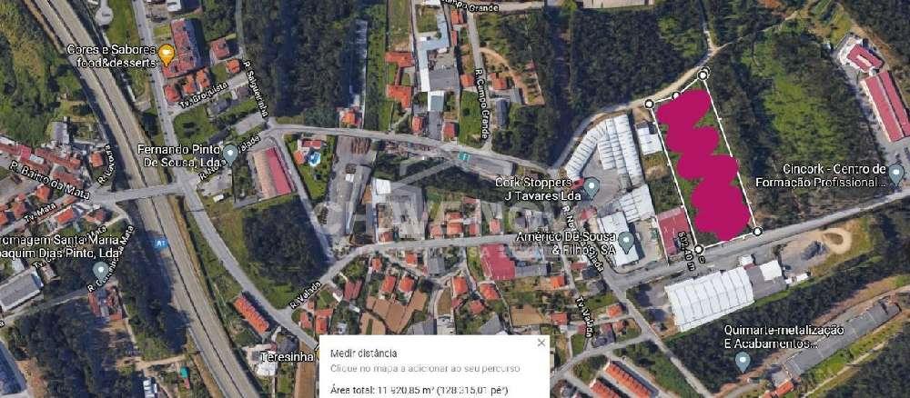 Santa Maria de Lamas Santa Maria Da Feira terreno foto #request.properties.id#